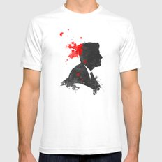 The Assassination of John F. Kennedy SMALL White Mens Fitted Tee