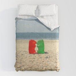 Gummy Bear Beach Kiss Comforters