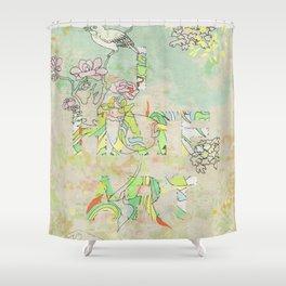 I HATE ART Shower Curtain