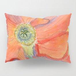 Red Poppy-3 (Papaver rhoeas) Pillow Sham
