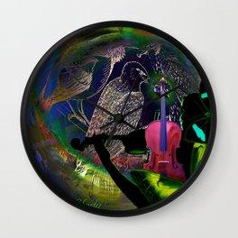 Earth Melody Wall Clock