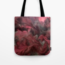 Jack Frost In Coral and Green Tote Bag