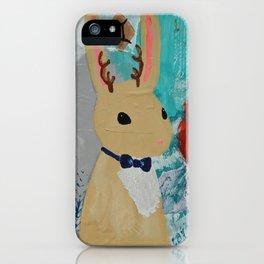 Gemini Jackalope boy iPhone Case
