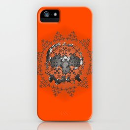 Skull and Crossbones Medallion iPhone Case