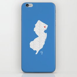 New Jersey Love iPhone Skin