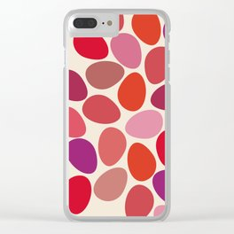 lipstick touch Clear iPhone Case