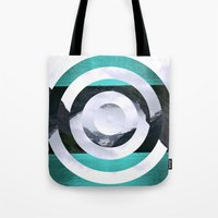 lake Tote Bags featuring Lake Louise by Fimbis