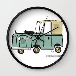1960 Land Rover Wall Clock