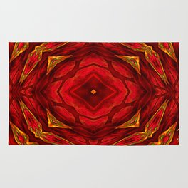 Red involvements Rug