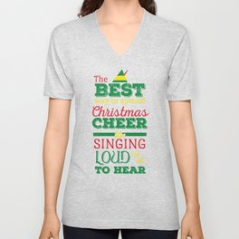 Christmas Cheer Unisex V-Neck