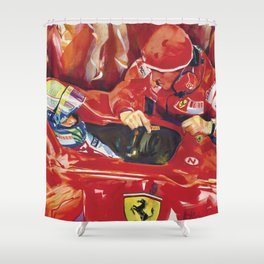 Prepare to qualify Shower Curtain