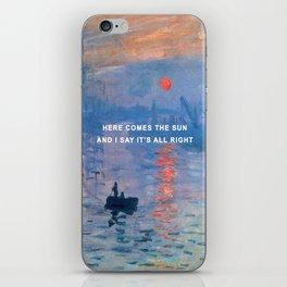Here Comes the Impression, Sunrise iPhone Skin
