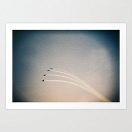 Blue Angels (2) Art Print
