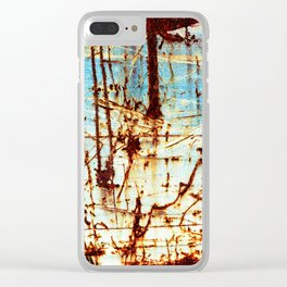 Down In The Dumps Clear iPhone Case