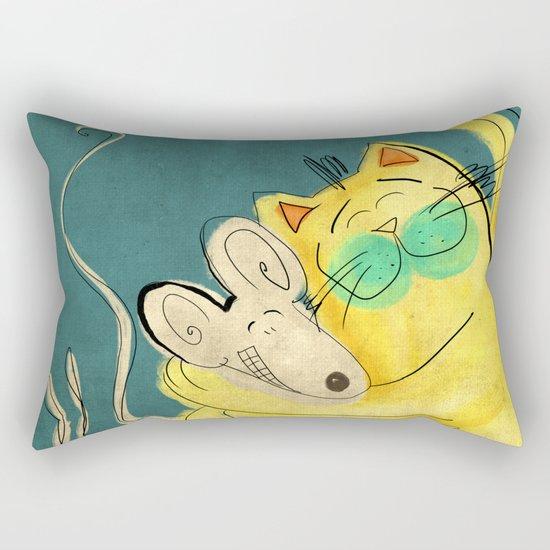 Lets be Friends Rectangular Pillow