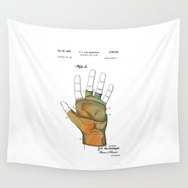 Golf Glove Patent 1955 Wall Tapestry