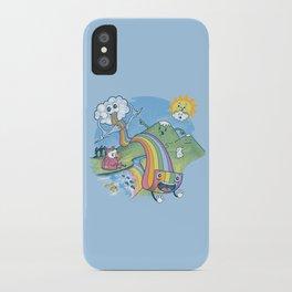 Rainbow Pasta iPhone Case