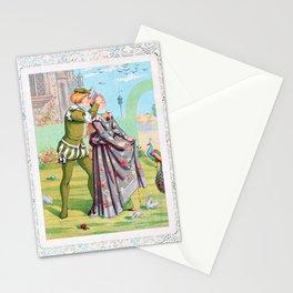 12,000pixel-500dpi - Kate Greenaway - Valentine, Blindfold - Digital Remastered Edition Stationery Cards