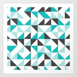 3ANGLE Art Print