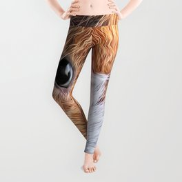 Painted Guinea Pig 5 Leggings