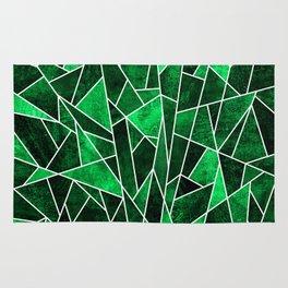 Shattered Emerald Rug
