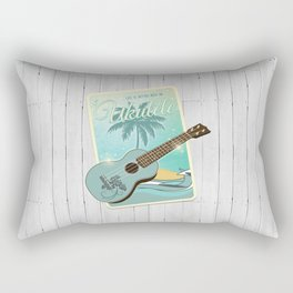 Life is better with an ukulele Rectangular Pillow