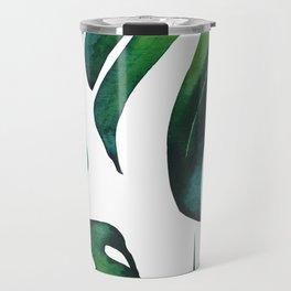Tropical Palm Leaves Classic Travel Mug