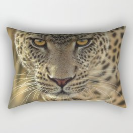 Leopard - On the Prowl Rectangular Pillow