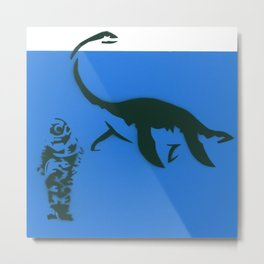 nothing to doubt (nessie) Metal Print