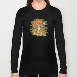 Forest of Mushrooms Long Sleeve T-shirt