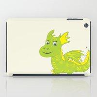 dino iPad Cases featuring Dino by Hagu