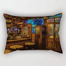 Old Irish Pub Rectangular Pillow