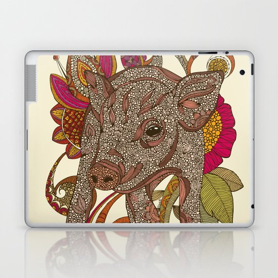 Paisley Piggy Laptop & iPad Skin