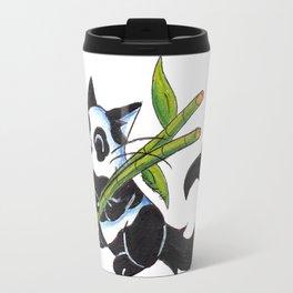 Panda Cat Travel Mug