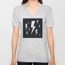 Lightning bolts Unisex V-Neck