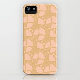 Golden papillon iPhone Case