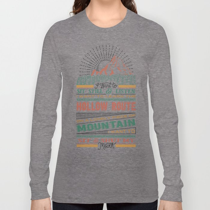 The Hollow Route Long Sleeve T-shirt