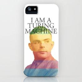 I am a Turing Machine iPhone Case