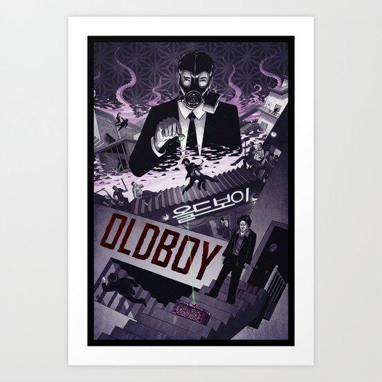 Oldboy [limited color] Art Print