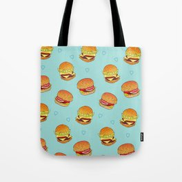 Hearty Burgers Tote Bag