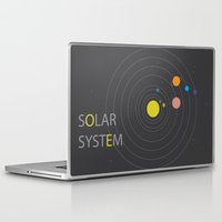 solar system Laptop & iPad Skins featuring Solar System by Loaded Light Photography