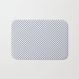 Stonewash Polka Dots Bath Mat