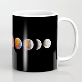 2019 Blood Wolf Moon Lunar Eclipse from Connecticut Coffee Mug