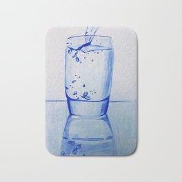 Water Glass Bath Mat