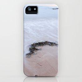 Seaweed long exposure gower iPhone Case