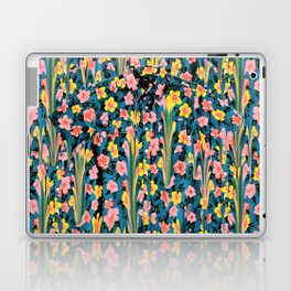 MELTED FLOWERS Laptop & iPad Skin