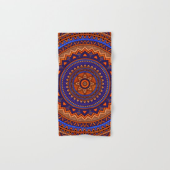 Hippie mandala 41 Hand & Bath Towel