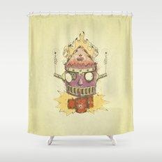 Jellyroll #9: Caos Shower Curtain
