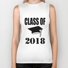 Class of graduation high school graduation college graduation unisex graduation short sleeve unisex Biker Tank