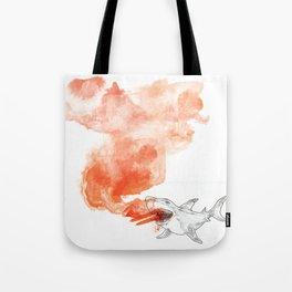 Shark Attack!  Tote Bag